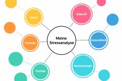 Mindmap Stressanalyse